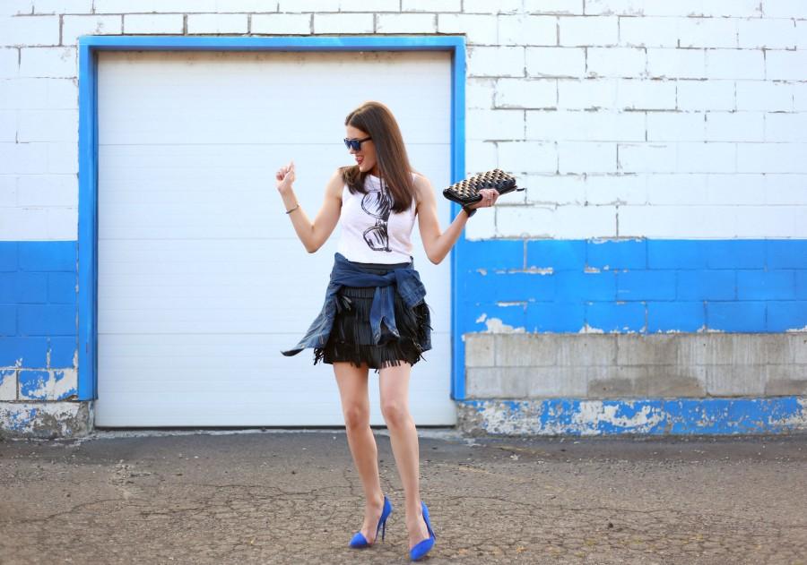 Fringe Skirt 6a