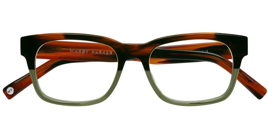 Warby-Parker_Beckett_Saddle-Sage_eyeglasses_topdown