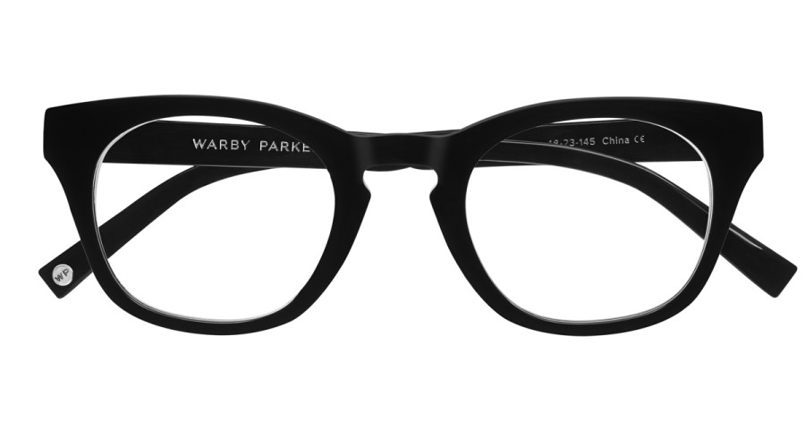 Warby-Parker_Caspar_Jet-Black_eyeglasses_topdown