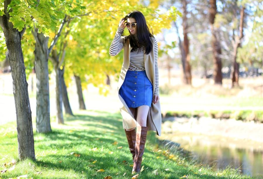 Vest Skirt Boots 5a