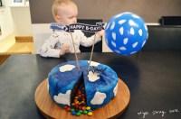 Einfache Flugzeug-Thementorte: Piata-Geburtstagskuchen ...