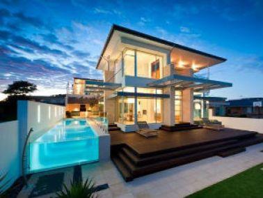 רעיונות לעיצוב הבית באמצעות תמונות של בתים מעוצבים