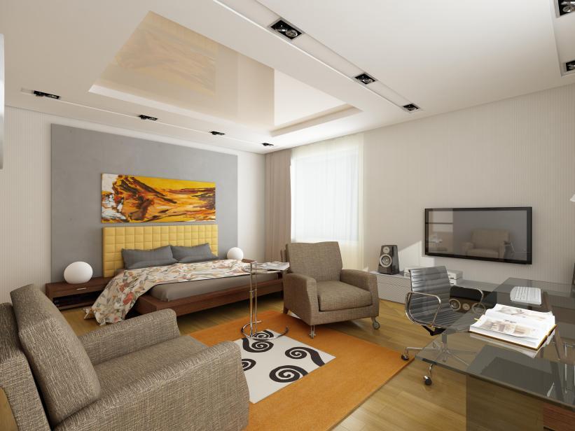 רעיון לעיצוב חלל בית מורכב