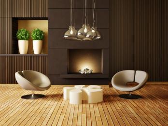עיצוב מורכב של פינת ישיבה מעוצבת