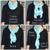 4 Ways to Wear a Skinny Scarf | Style All Over