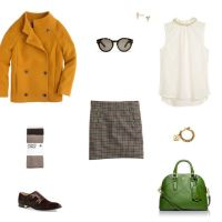 How She'd Wear It with Style and Cheek - 60s Mini Skirt