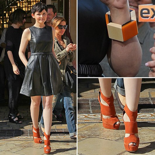 ginnifer-goodwin-leather-dress