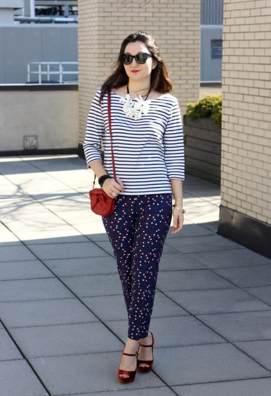 h&amp;m-dotted-pants