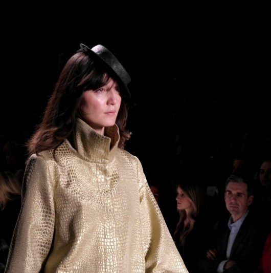 toronto-fashion-week-irina-lazareanu-pink-tartan