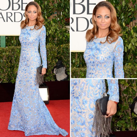 best-dressed-nicole-richie-naeem-khan-golden-globes-2013