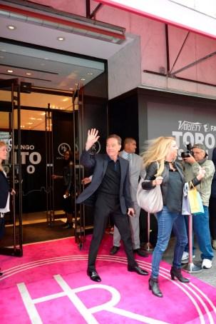 _Bryan Cranston exiting Variety Studio at Holt Renfrew