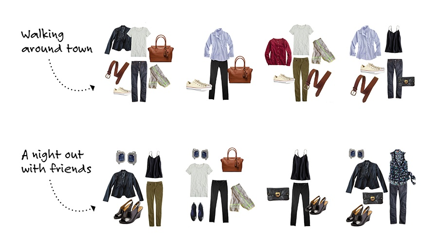 Stylebook Closet App Packing Lists 8 Tips to Pack 20 Outfits in