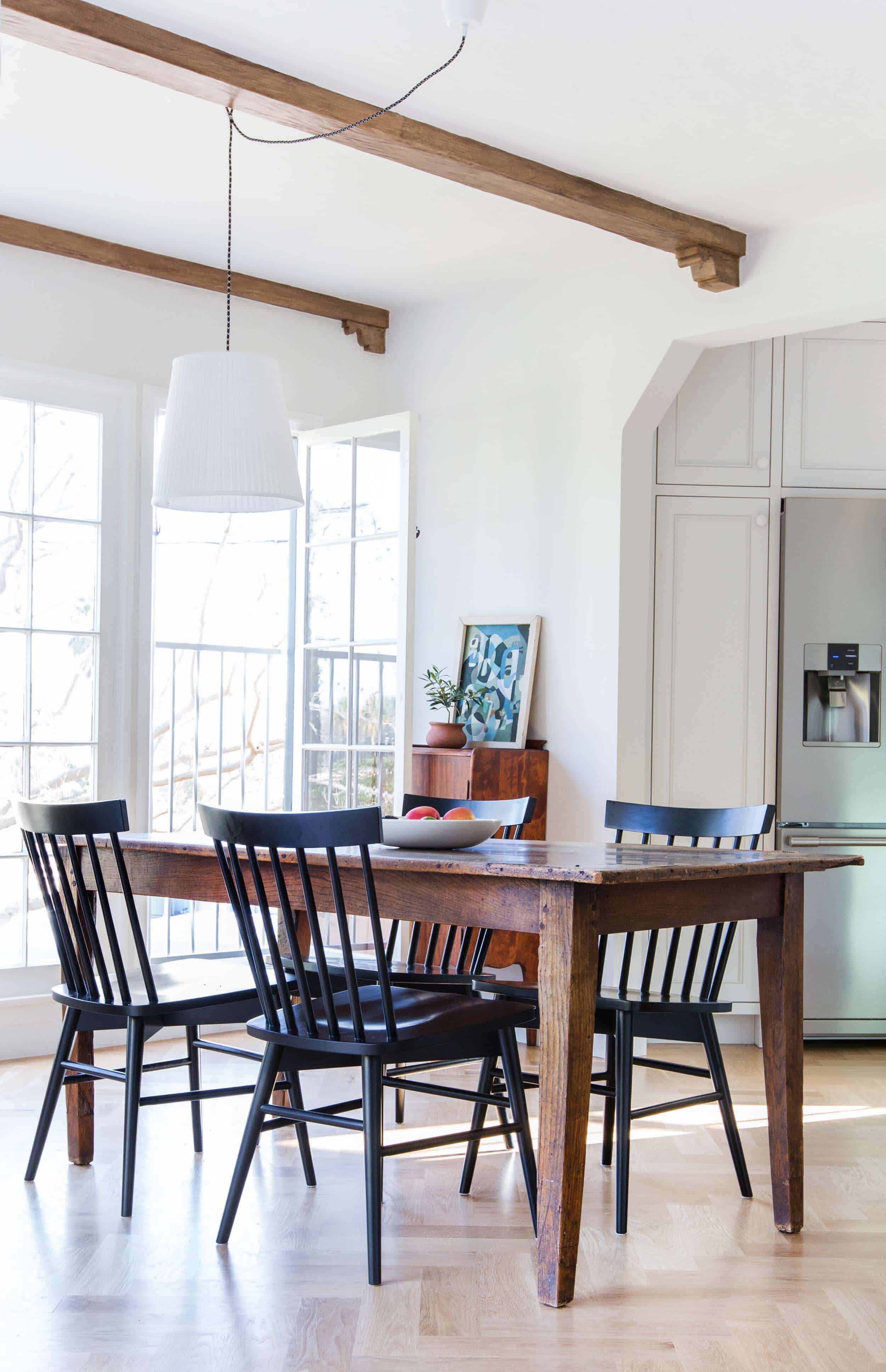 Mixing Dining Room Chairs Dining Room Update With A Lot Of Questions Emily Henderson