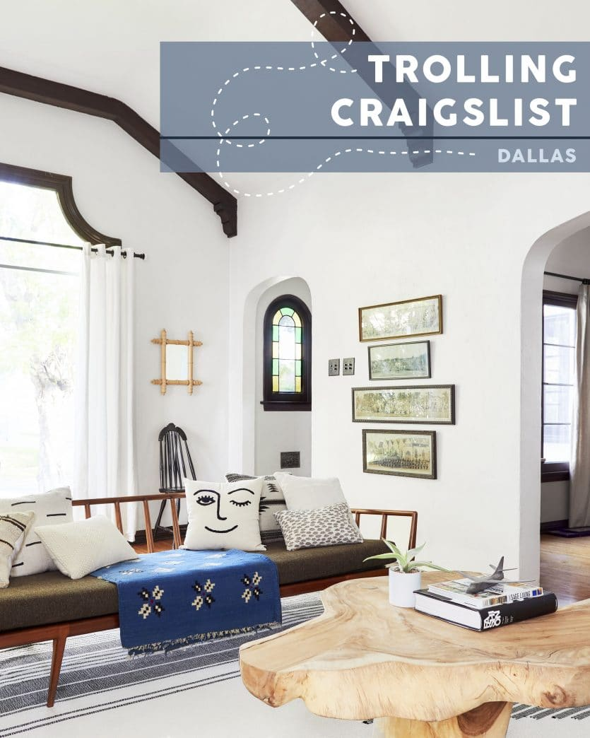 50 Bentwood Chairs 10 Stools Free Bookcases The Best Dallas Craigslist Finds Right Now Emily Henderson
