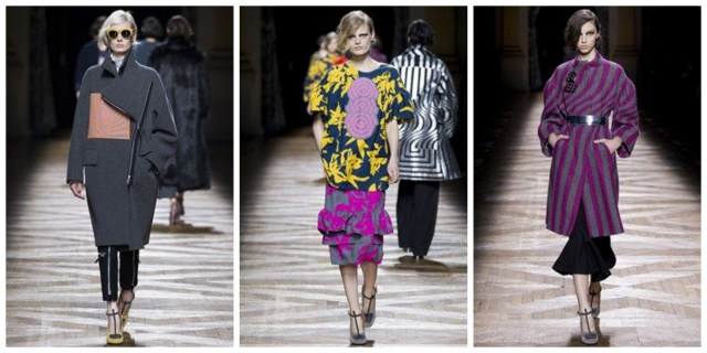 Dries Van Noten Fall 2014 1024x512 Paris Fashion Week Edits: Sonia Rykiel, Rochas, Dries Van Noten