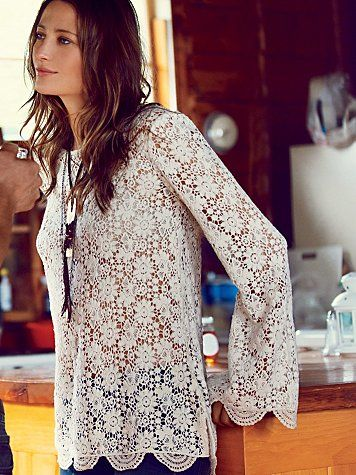 freepeople lace tunic Five Petite Wardrobe Myths, Debunked