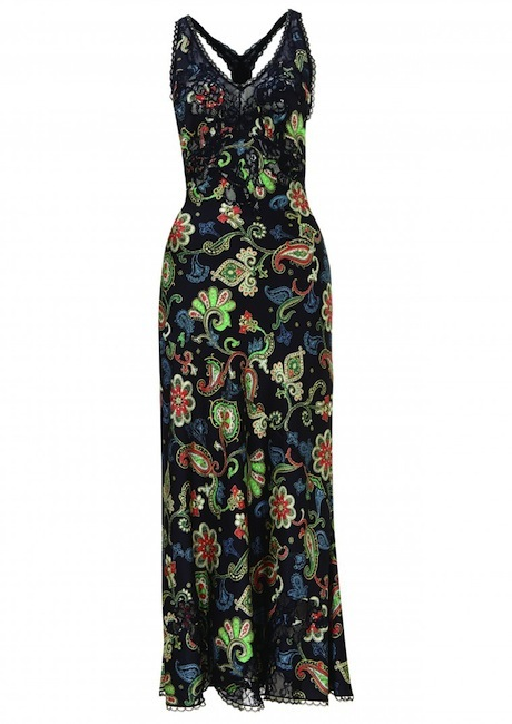 kate moss for topshop dress Kate Moss Brings Back Boho Glam in Latest Topshop Collaboration