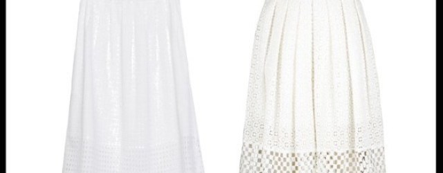 save or splurge_eyelet skirt