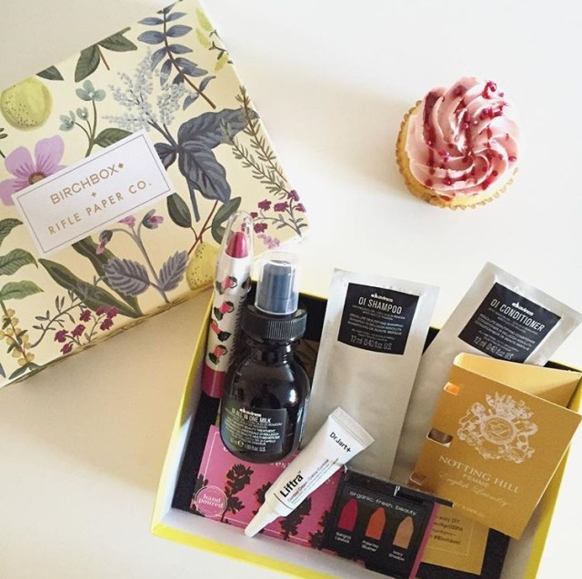 birchbox review april 2016