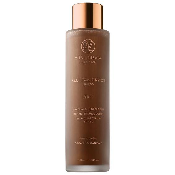 self tan dry oil vita liberata