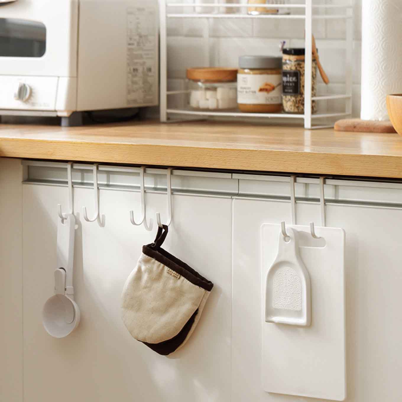 Kitchen Cabinet Hanging Cabinet Hanging Hooks 2pc Set Kitchen And Bathroom