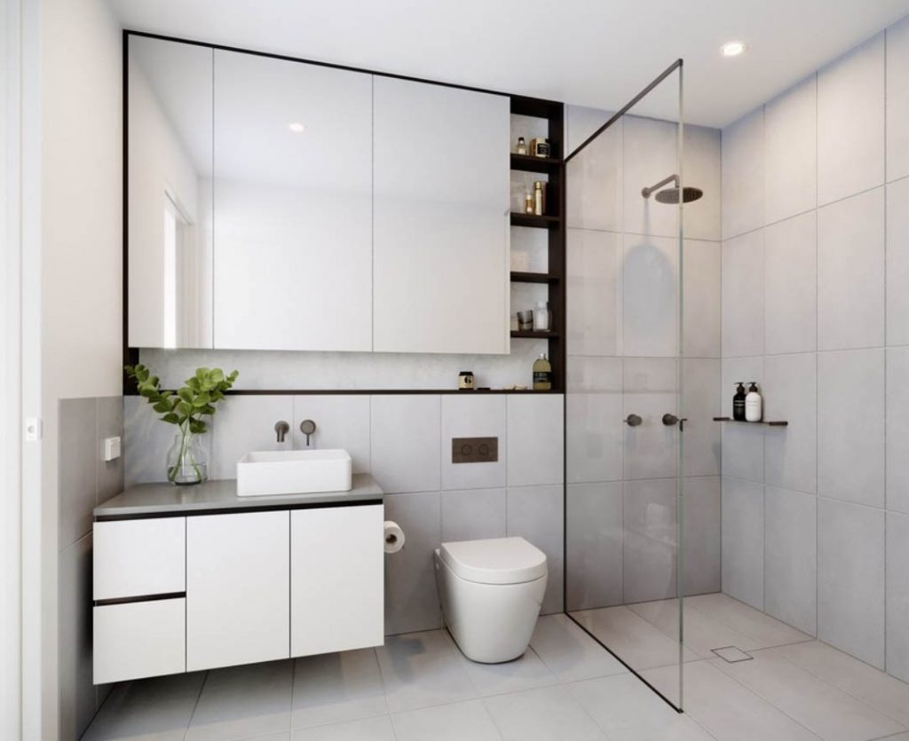 Small Toilet Get 15 Hdb Bathroom Makeover Design Ideas Style Degree