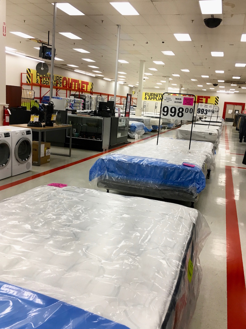 Big Couch Xxl What's The Deal With Toronto's Last Zellers Store? We Take