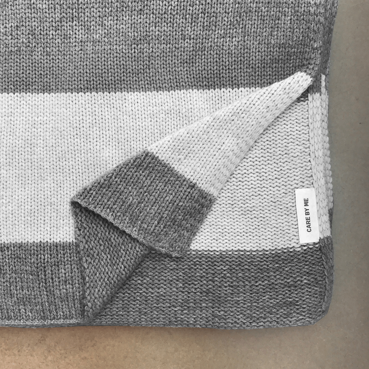 Wolldecke Grau Care By Me Plaid Aus Cashmere Wolle