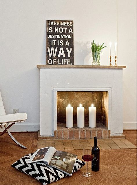 Ikea South Florida Home Decor Wish List: A Fireplace & Cozy Candles