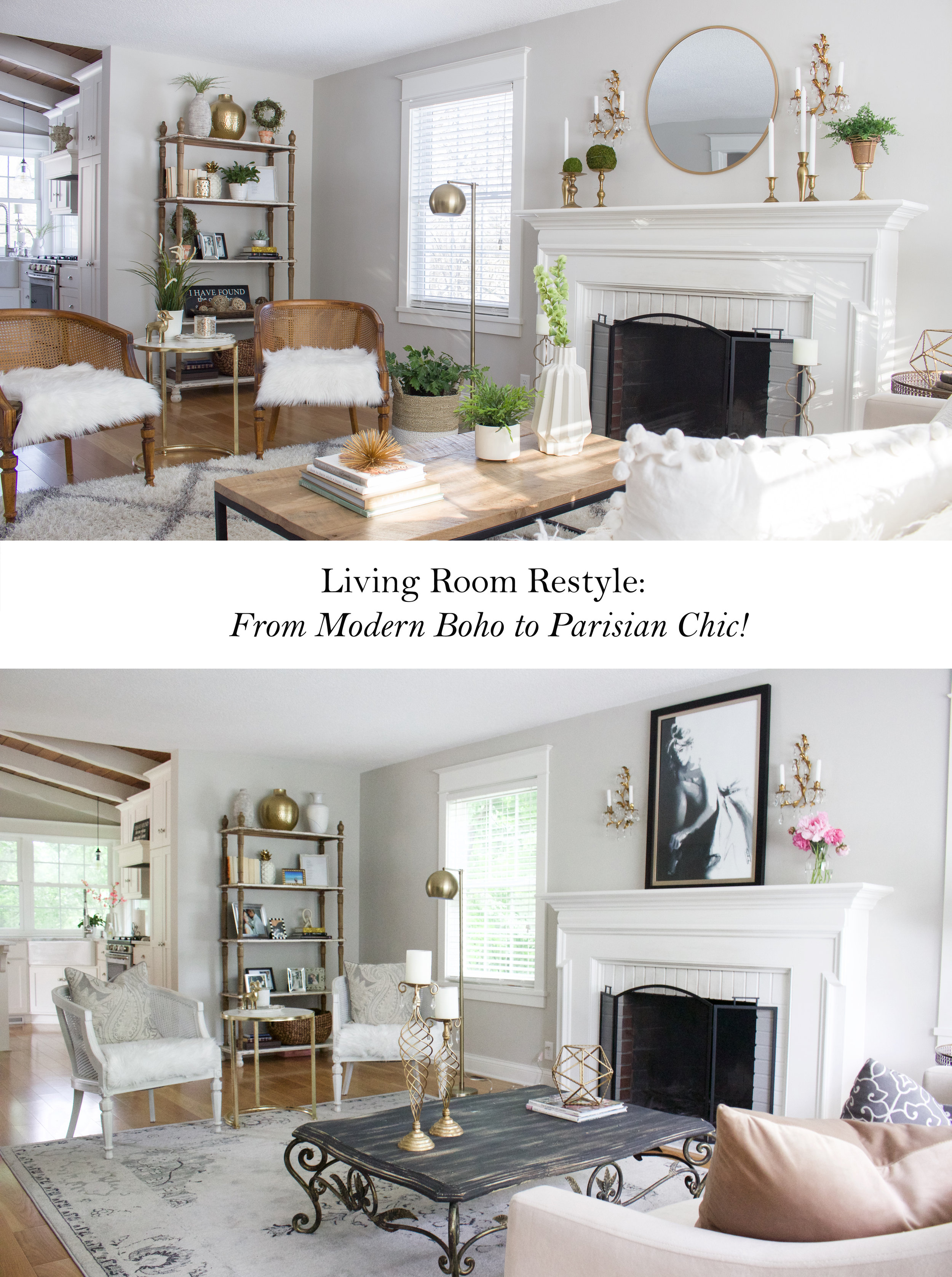 Styles For Living Room Style Switch Up Making My Living Room Look Parisian Styled With
