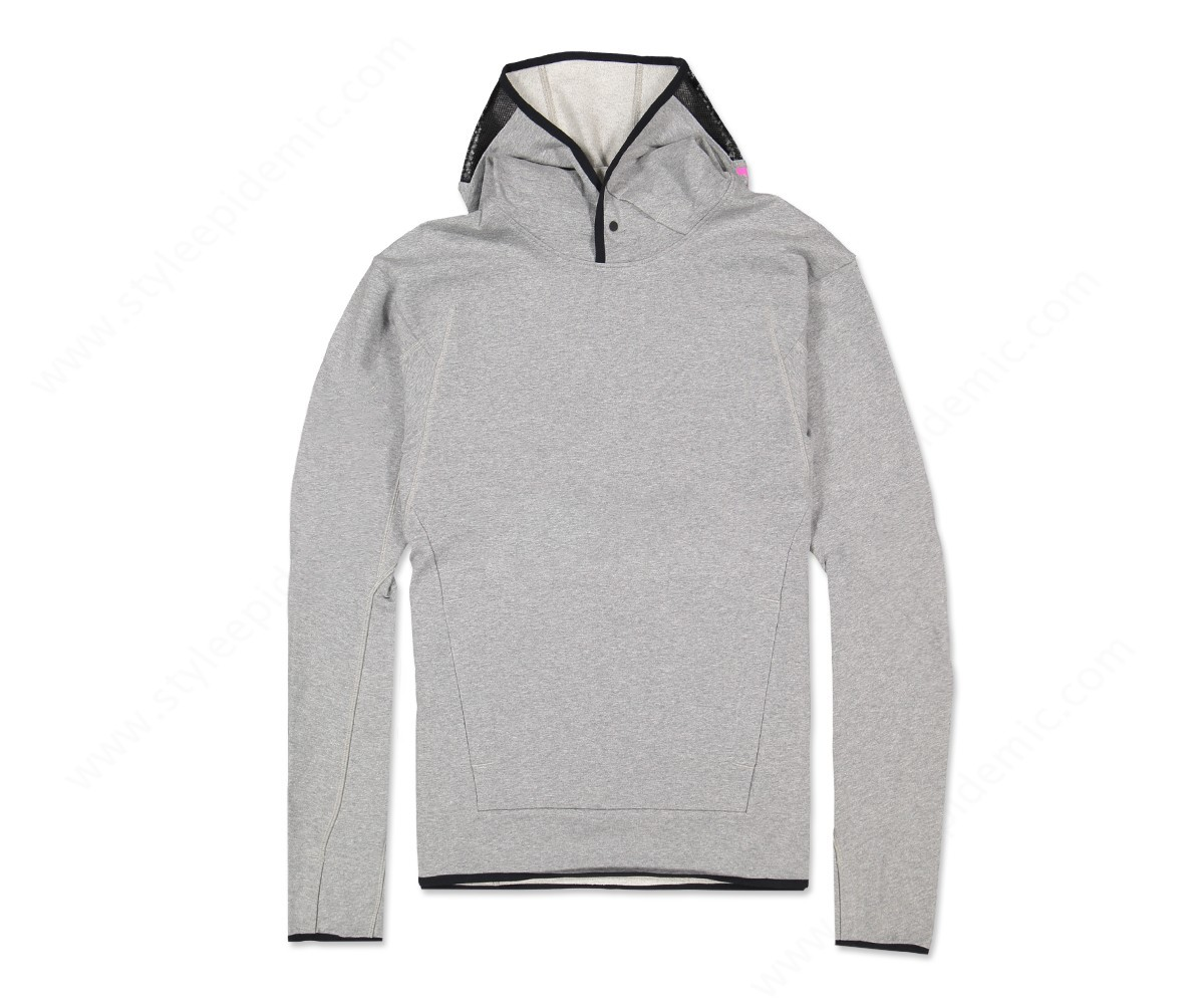 Nike Hoodie Carbon Heather Man Nike Nikelab Acg Pullover Hoodie Carbon Heather Cool Grey