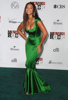 Beyonce Green Dress Conde Nast
