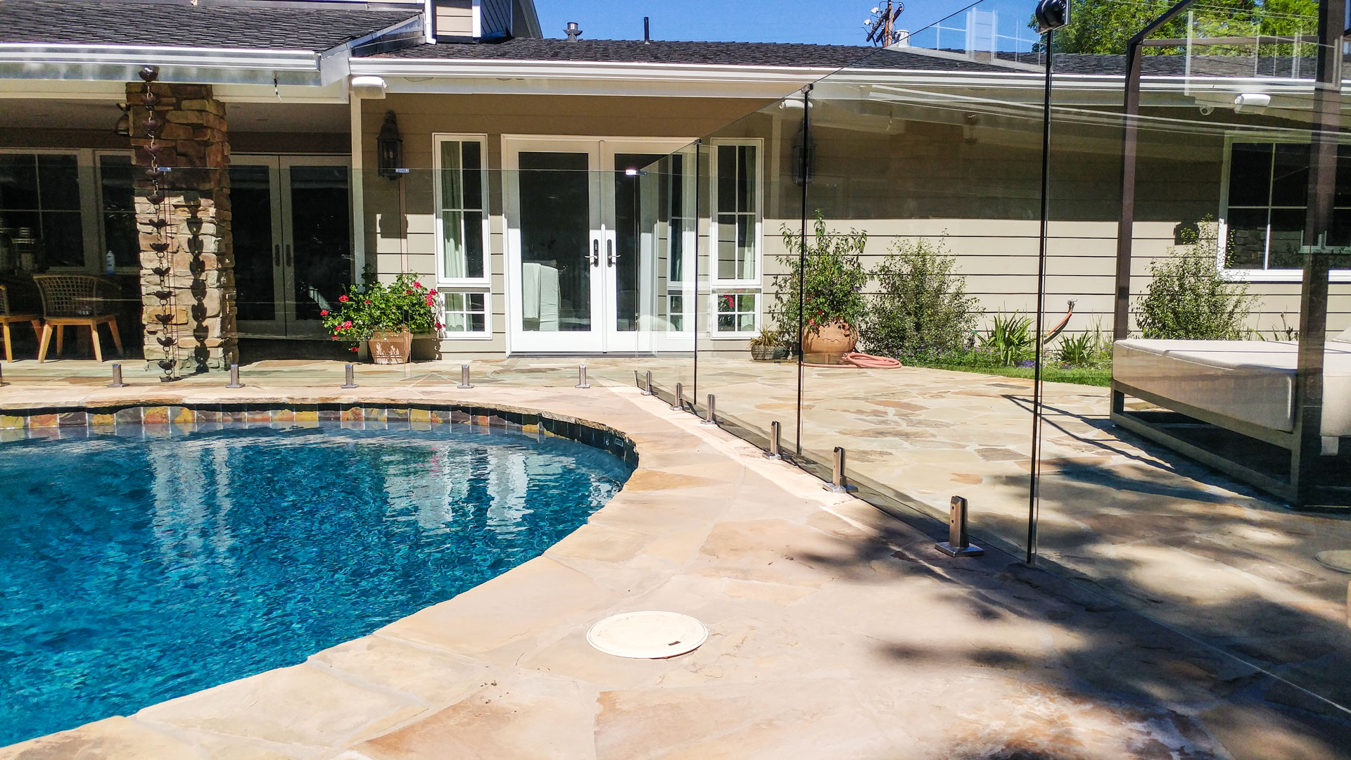 Glaspool Frameless Glass Pool Fences