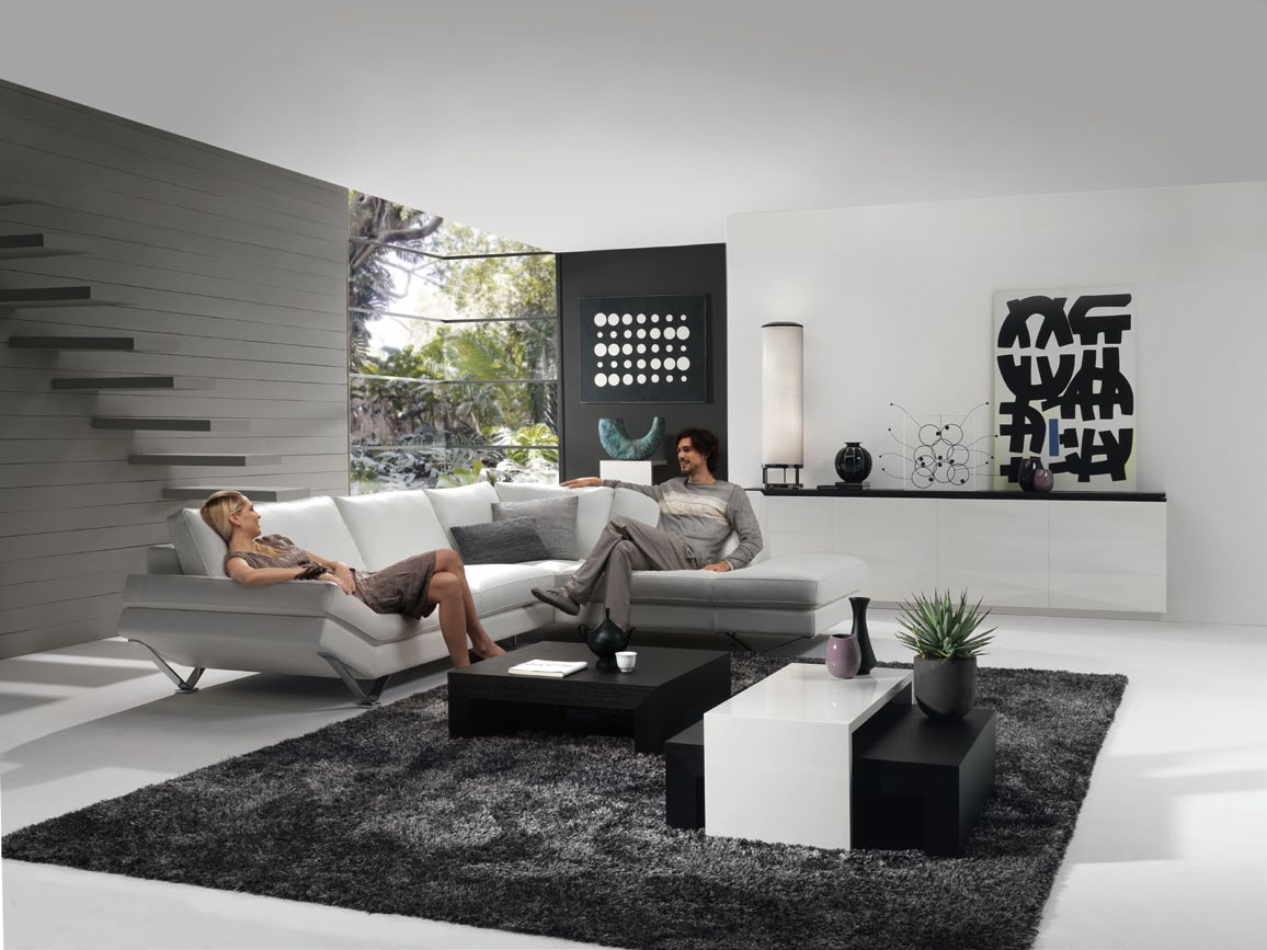 Modern Living Room Ideas Grey Living Room In Grey With Releve Modular Sofa Stylehomes