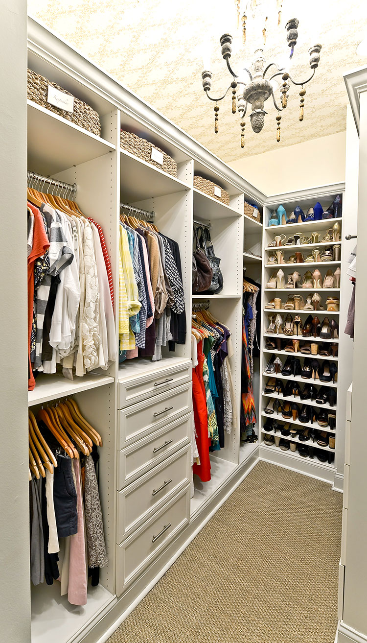 Walk In Closet Organization Ideas What A Perfect Closet Looks Like 15 Beautiful Walk In Closet