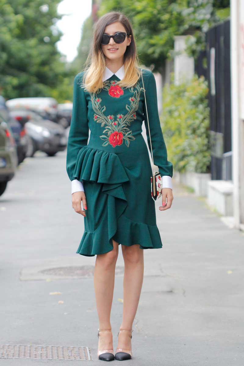 FabSugar-floral-embroidered-ruffled-sheath-got-modern-update-PVC