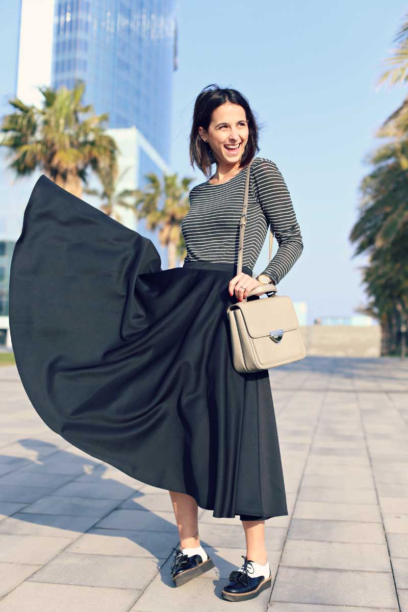 style-in-lima-midi-skirt-striped-top
