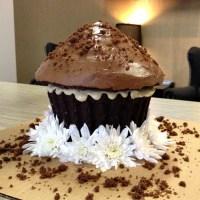 Giant Cupcake Recipe: Gluten-Free, Dairy-Free, Vegan Chocolate Cake