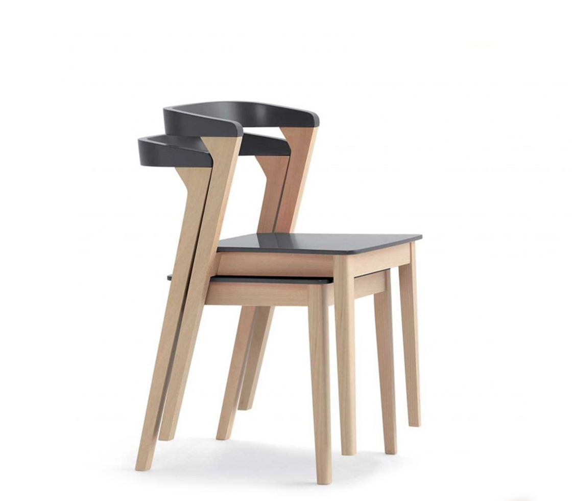 Dining Stools Luna Stackable Dining Chair Style Matters