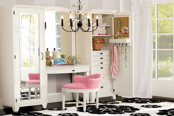 Coiffeuse Design Blanche 23 Gorgeous Dressing Tables - Style Motivation