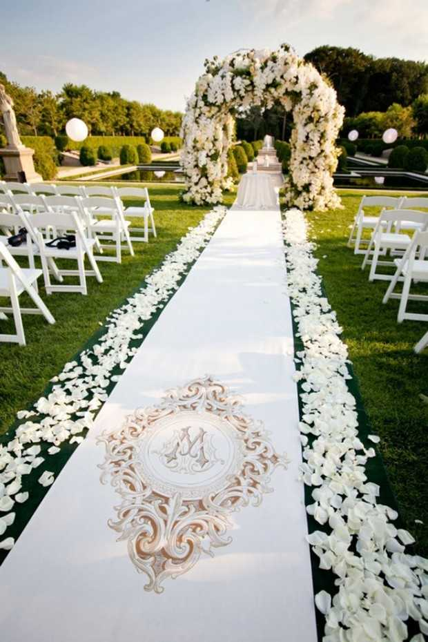 Alfombras Para Entrada De Casa 25 Beautiful And Romantic Garden Wedding Ideas - Style