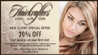 Hair Salon Coupons - WIchita Hair Salon, Hair Salon in ...