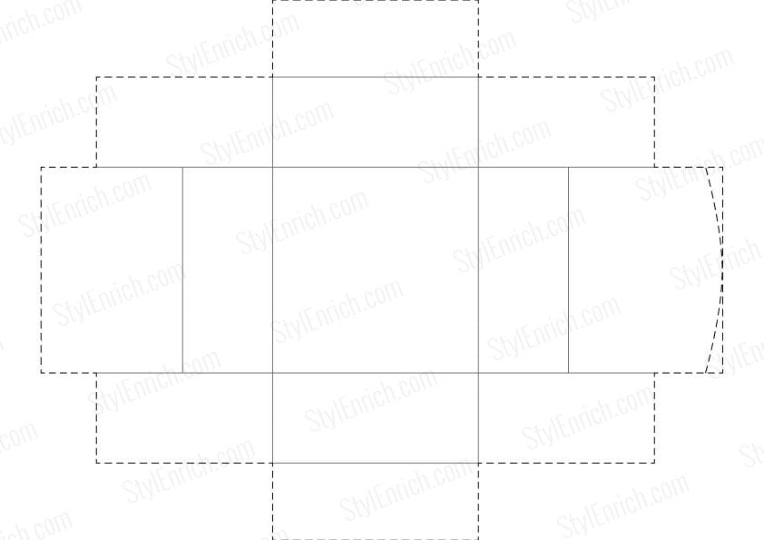 Box Template Box Packaging Template Vector Box Packaging Template
