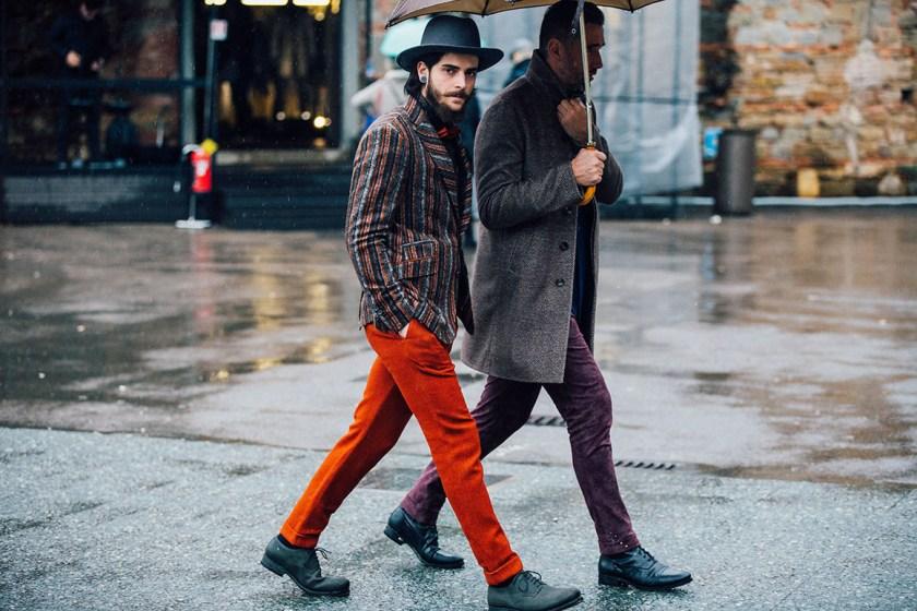 Street style menswear week fall winter 2016 2017 stylentonic