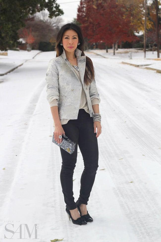 Holiday Look 1   Ice Ice Baby - Style of Sam DFW Fashion Blog