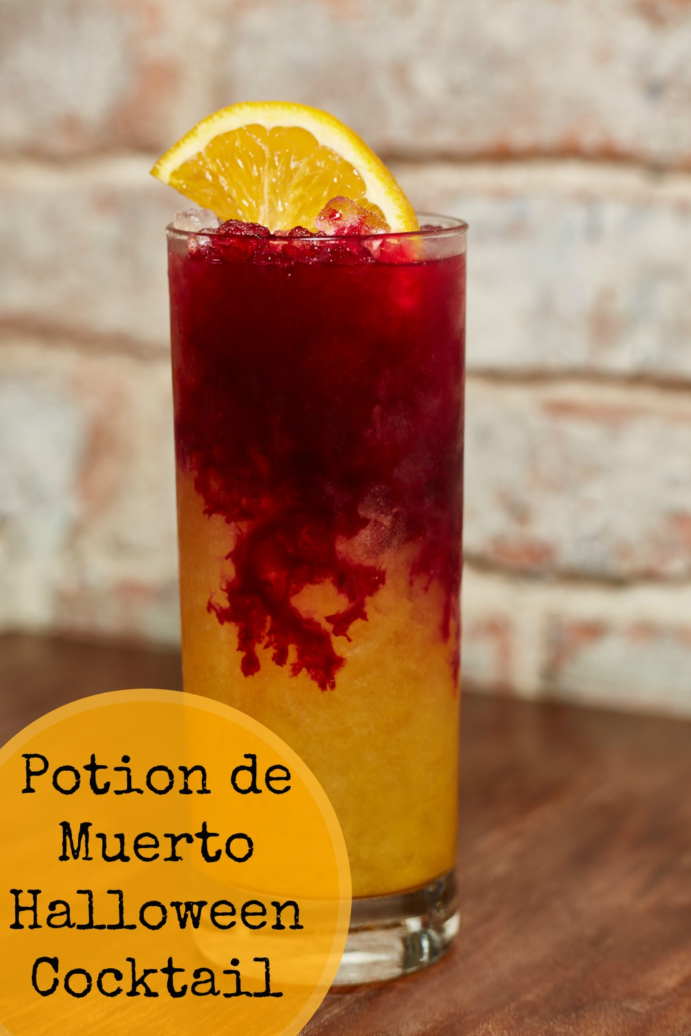 Cocktail Halloween Potion De Muerto Halloween Cocktail Recipe