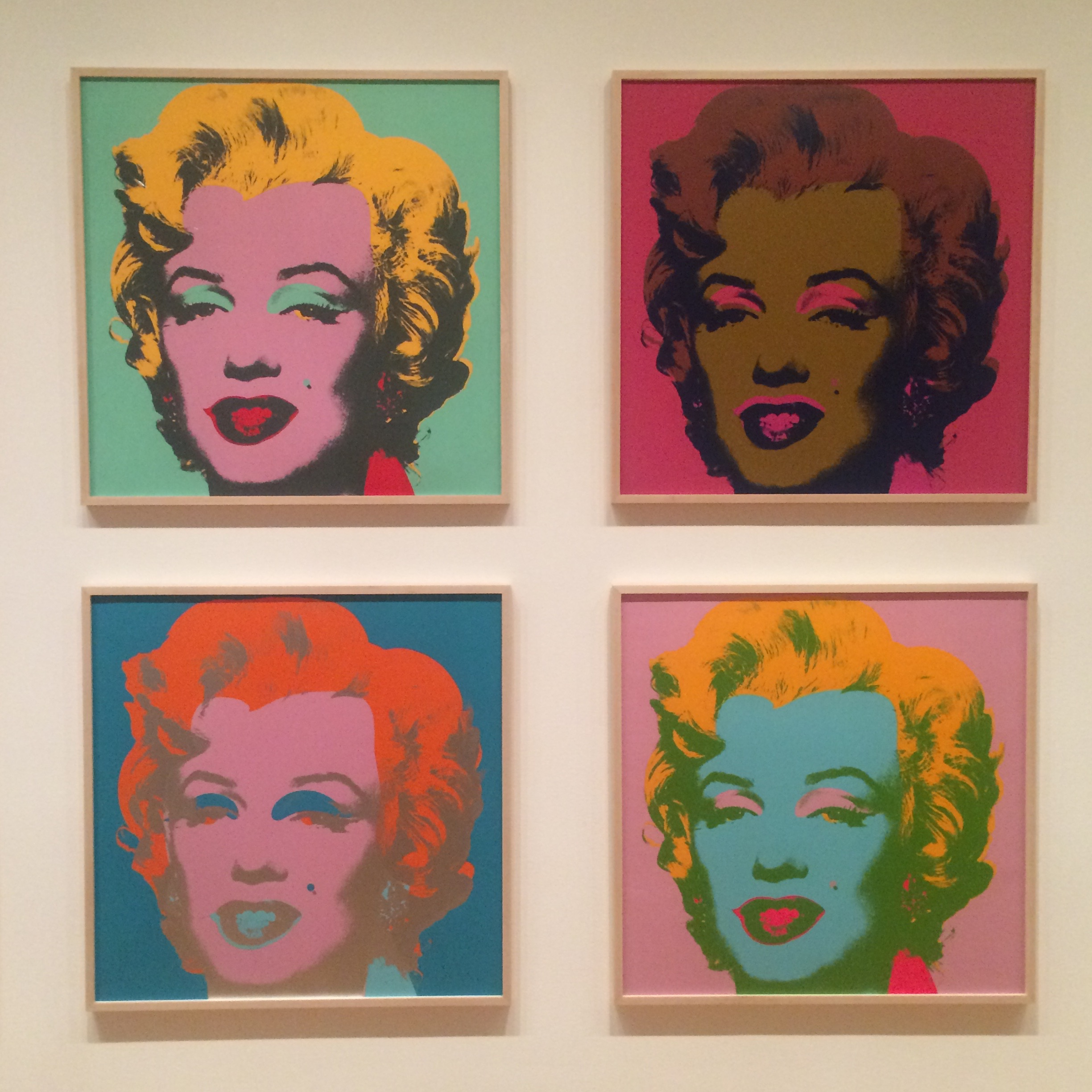 Marilyn Pop Art Andy Warhol Popping In At The Moma Andy Warhol And Other Thoughts