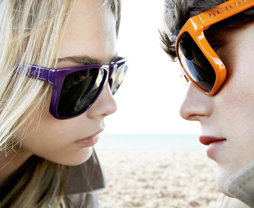 Burberry Brights Spring Summer 2011 Sunglasses Campaign 2