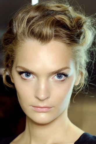 Dolce Gabbana Spring Summer 2012 Backstage Beauty 2