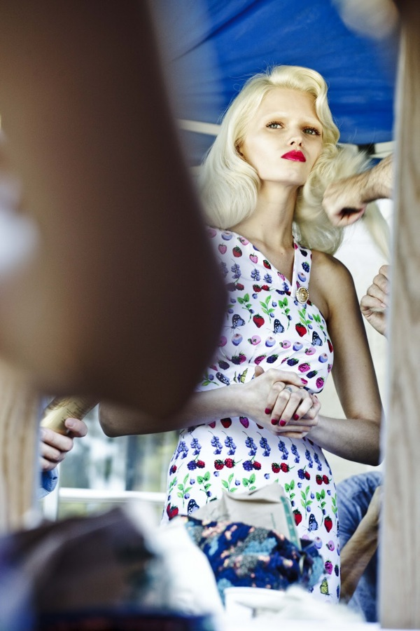 Making Of Versace for HM Cruise 2012 Ad Campaign 14